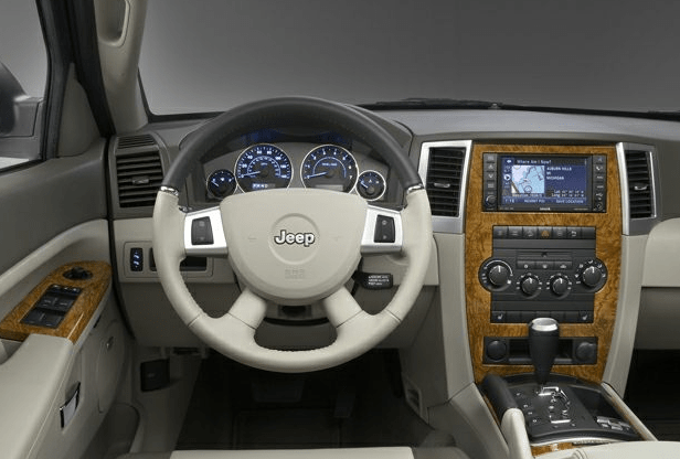 2010 Jeep Grand Cherokee Interior and Redesign
