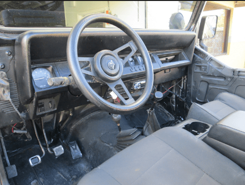 1990 Jeep Wrangler Interior and Redesign