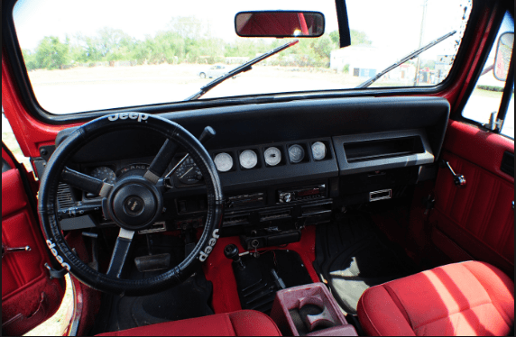 1991 Jeep Wrangler Interior and Redesign