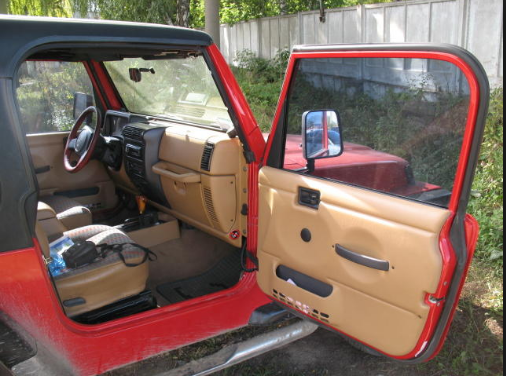 1996 Jeep Wrangler Interior and Redesign