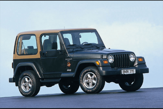 1996 Jeep Wrangler Owners Manual and Concept
