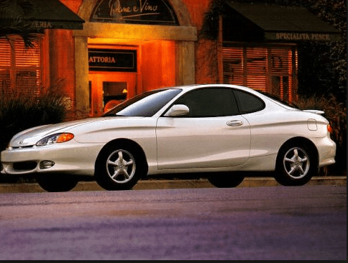 1998 Hyundai Tiburon Owners Manual and Concept