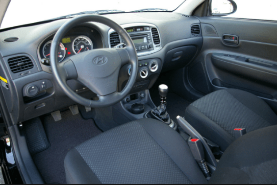 2001 Hyundai Accent Interior and Redesign