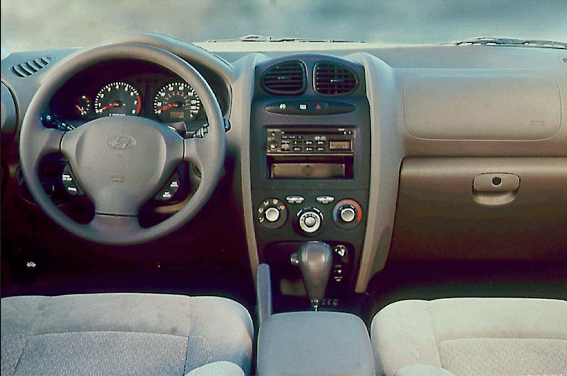 2001 Hyundai Santa Fe Interior and Redesign