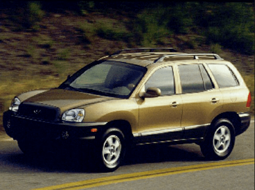 2001 Hyundai Santa Fe Owners Manual and Concept