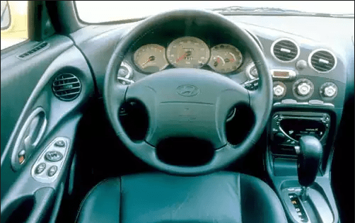2001 Hyundai Tiburon Interior and Redesign