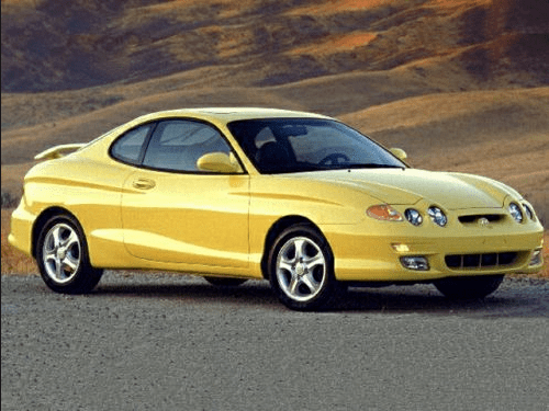 2001 Hyundai Tiburon Owners Manual and Concept
