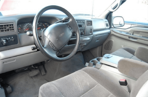 2002 Ford Super Duty Interior and Redesign