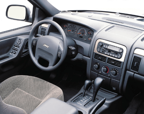2004 Jeep Cherokee Interior and Redesign