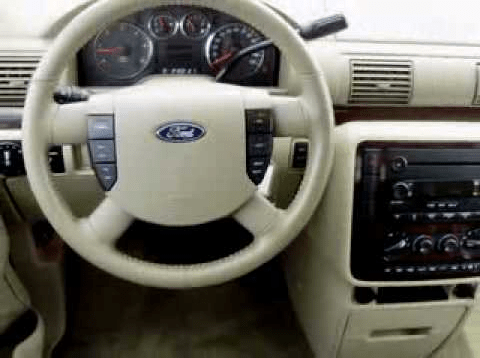 2006 Ford Freestar Interior and Redesign