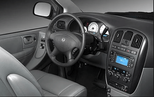 2007 Dodge Caravan Interior and Redesign