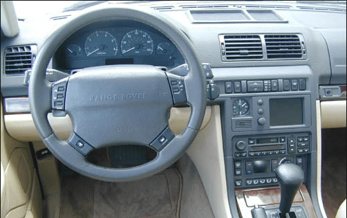 2000 Land Rover Range Rover Interior and Redesign