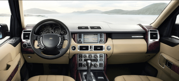 2005 Land Rover Range Rover Interior and Redesign