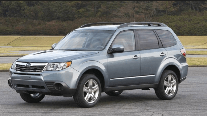 2010 Subaru Forester Owners Manual and Concept