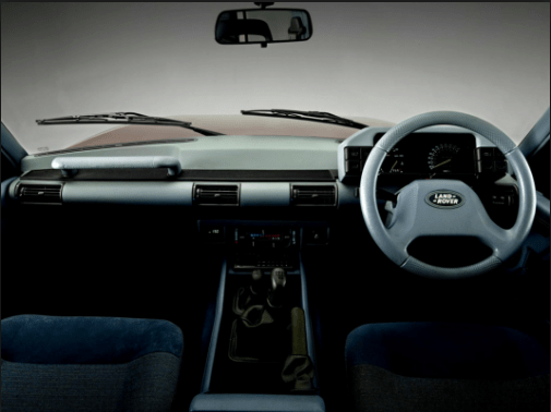 1990 Land Rover Discovery Interior and Redesign