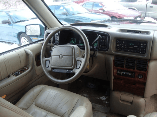 1994 Chrysler Town & Country Interior and Redesign