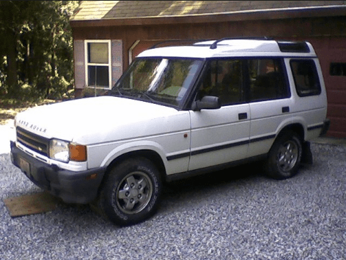 1995 Land Rover Discovery Owners Manual