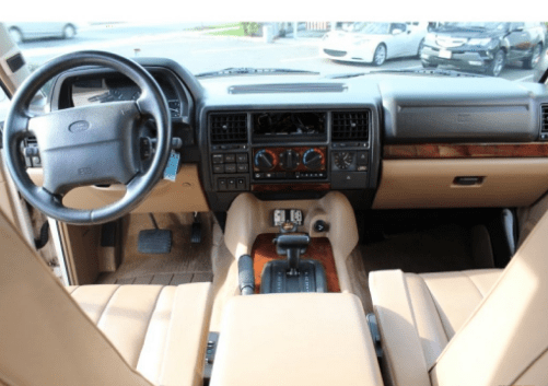 1995 Land Rover Range Rover Interior and Redesign