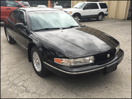 1996 Chrysler LHS Owners Manual and Concept