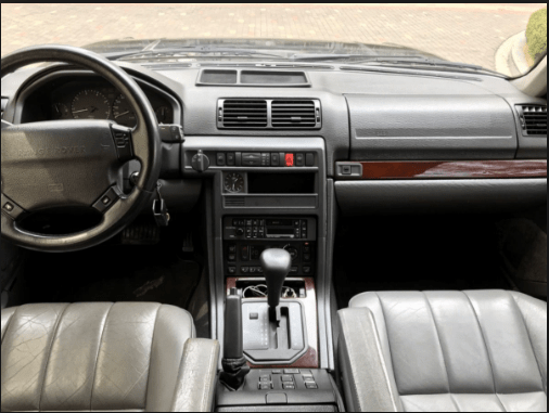 1996 Land Rover Range Rover Interior and Redesign