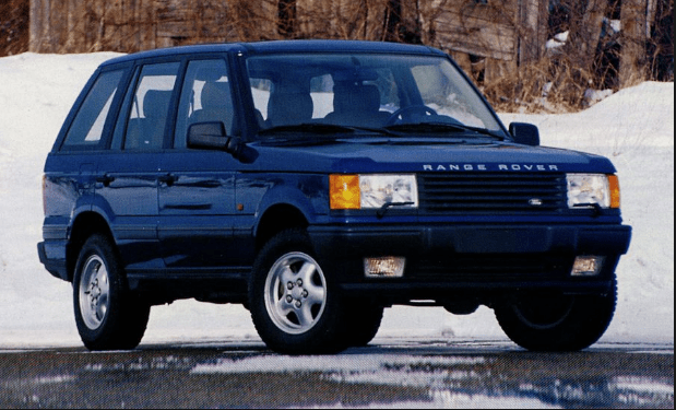 1996 Land Rover Range Rover Owners Manual and Concept