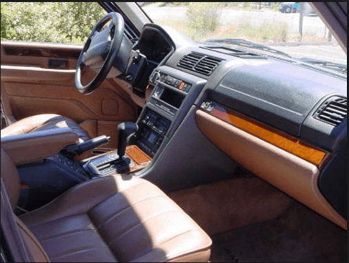 1997 Land Rover Range Rover Interior and Redesign
