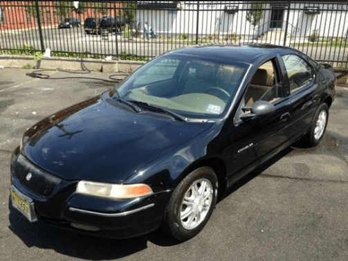 1998 Chrysler Cirrus Owners Manual and Concept