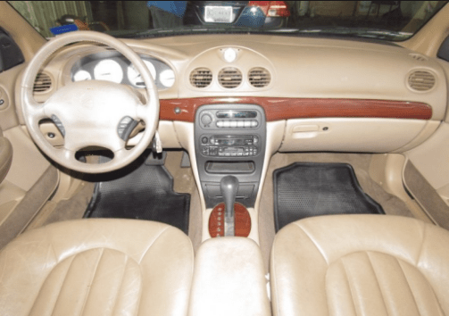 1999 Chrysler LHS Interior and Redesign