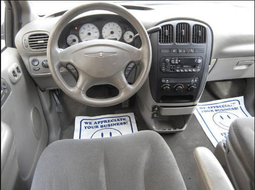 2002 Chrysler Voyager Interior and Redesign