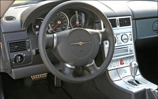 2005 Chrysler Crossfire Interior and Redesign