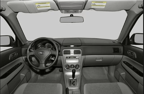 2007 Subaru Forester Interior and Redesign