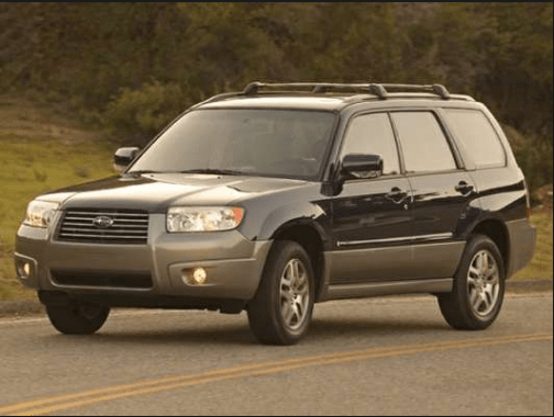 2007 Subaru Forester Owners Manual and Concept