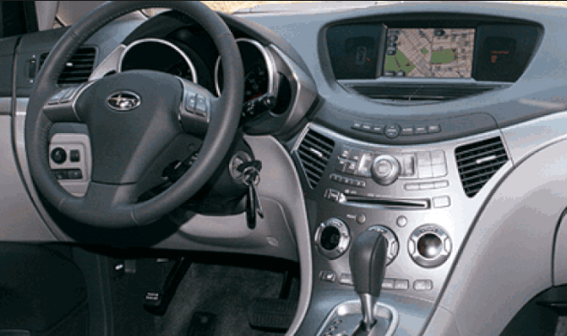2007 Subaru Tribeca Interior and Redesign