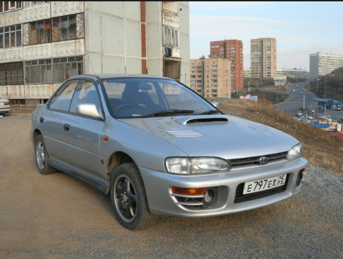 1994 Subaru Impreza Owners Manual and Concept