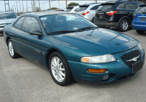 1998 Chrysler Sebring Owners Manual and Concept