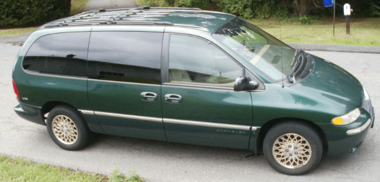 1998 Chrysler Town & Country Owners Manual and Concept