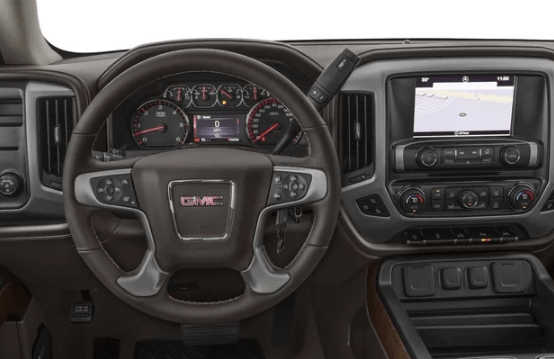 2016 GMC Sierra Interior and Redesign