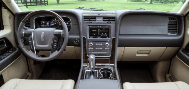 2016 Lincoln Navigator Interior and Redesign