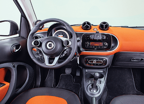 2016 Smart Fortwo Interior and Redesign