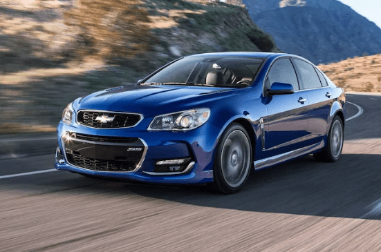 2017 Chevrolet SS Owners Manual and Concept
