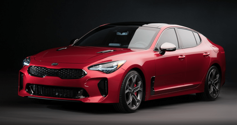 2018 Kia Stinger Concept and Owners Manual