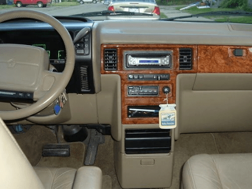 1992 Chrysler Town and Country Interior and Redesign
