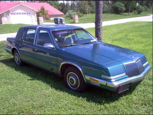1993 Chrysler Imperial Owners Manual and Concept
