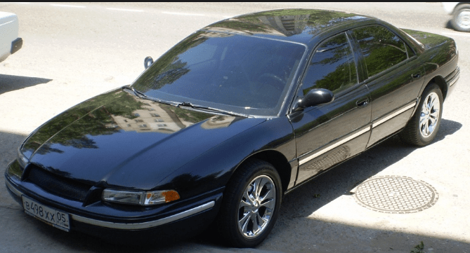 1994 Chrysler Concorde Owners Manual and Concept