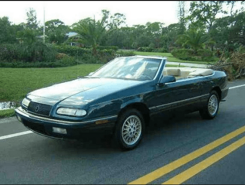 1994 Chrysler LeBaron Owners Manual and Concept