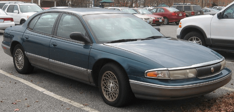 1994 Chrysler New Yorker Owners Manual and Concept