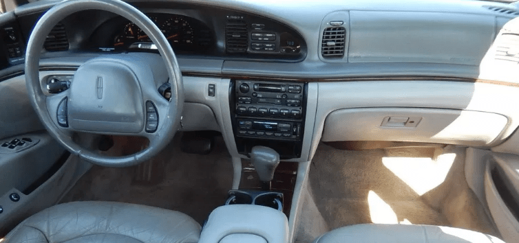 1995 Lincoln Continental Interior and Redesign