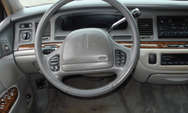1997 Lincoln Town Car Interior and Redesign