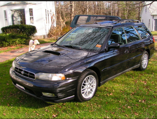 1997 Subaru Legacy Owners Manual and Concept