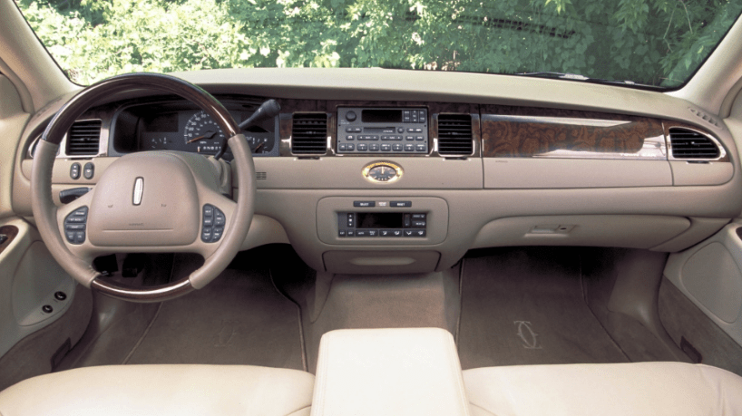 1998 Lincoln Town Car Interior and Redesign